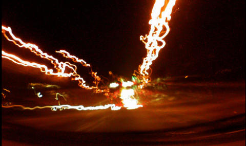 Light Streaks 3 Stock Video Footage