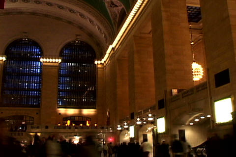 Grand Central Station Shutter 1 Stock Video Footage