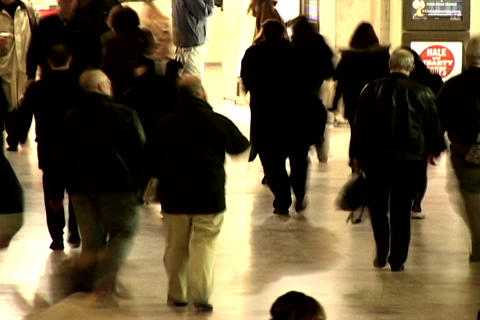 Grand Central Station Shutter Med Stock Video Footage