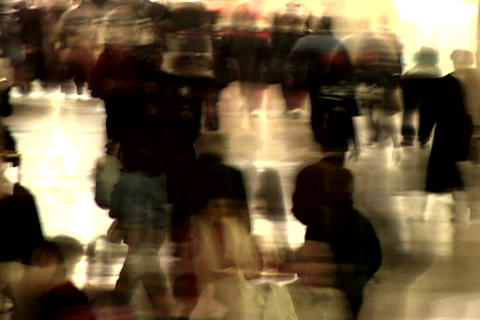 Grand Central Station Shutter Med Blend Stock Video Footage