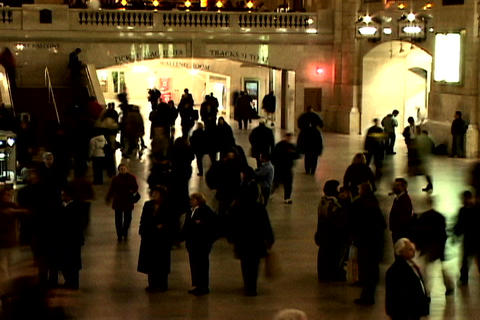Grand Central Station Shutter Wide 1 Stock Video Footage