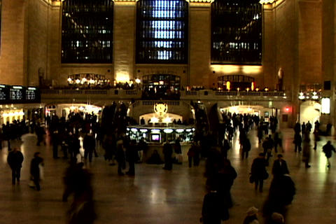 Grand Central Station Shutter XWide 1 Footage