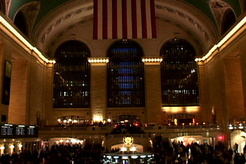 Grand Central Station Wide Shutter Stock Video Footage