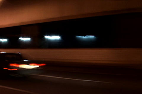 New York traffic, night Stock Video Footage