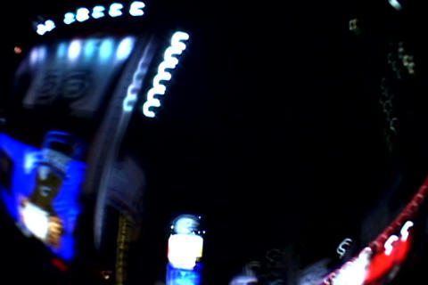 Lights at Times Square Stock Video Footage
