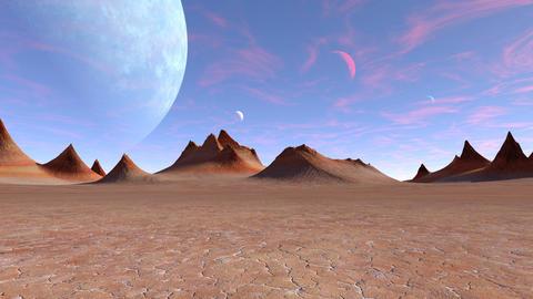 Planet 4K CG動画