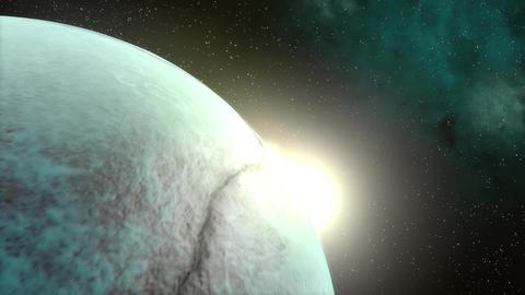 Alien Moon Flare Animation