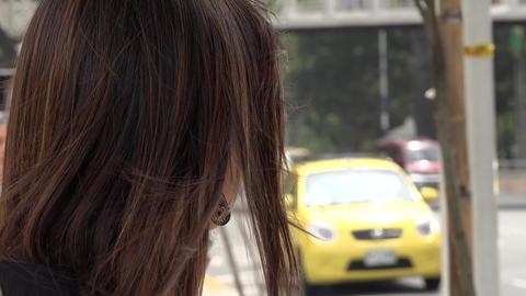 Bus Stop, Waiting, Passengers Footage