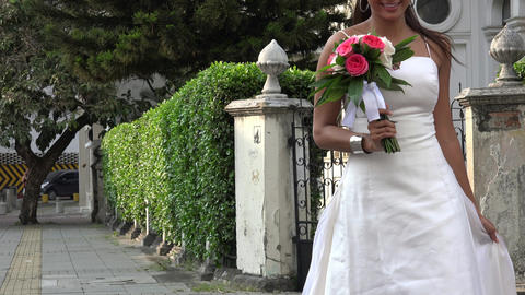 Bride Crossing Street Live Action