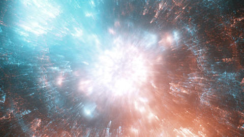 Colorful and fancy nebula Animation