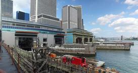 POV Staten Island Ferry Leaves Port Footage