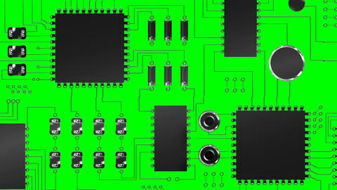 Close-up of electronic circuit board Live Action