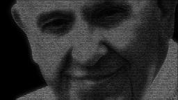 Animation of face of roman catholic pope Francis Animation