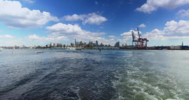 View of Brooklyn Shoreline as Seen from East River Ferry Footage