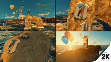 Love story Day Photo Video Gallery v2 After Effects Project