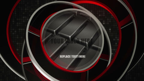 3d Logo Ring Reveal After Effects Template