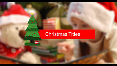 Xmas Gift Lower Thirds After Effects Template