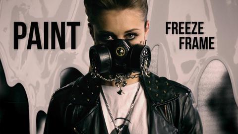 Paint Freeze Frame Premiere Pro Template