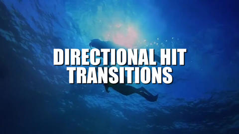 Directional Hit Transitions Premiere Proテンプレート
