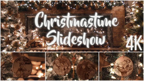 Christmastime Slideshow 4K After Effects Template