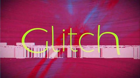 Fashion Glitch Opener After Effectsテンプレート