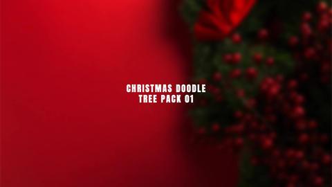Christmas Doodle Pack 01 MOGRT 모션 그래픽 템플릿