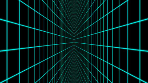 VJ Vertical Grid Animation