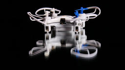 Mini drone quadcopter multirotor Footage