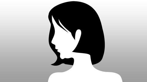老化 女性 アニメーション Animation