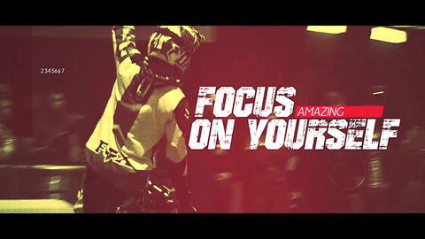 Dynamic Sport Opener After Effects Template
