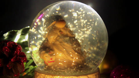 Christmas Glass Ball Live Action