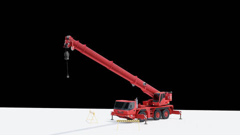 Crane animation GIF