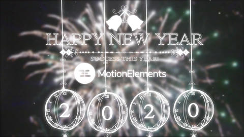 New Year Countdown 2.0 After Effects Template