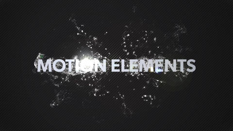[logo/text] A simple, cool introduction animation! After Effects Template