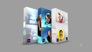 Snow Fall Slide Show Pack After Effects Template