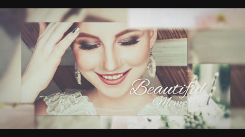 Memory Wedding Slideshow After Effects Template