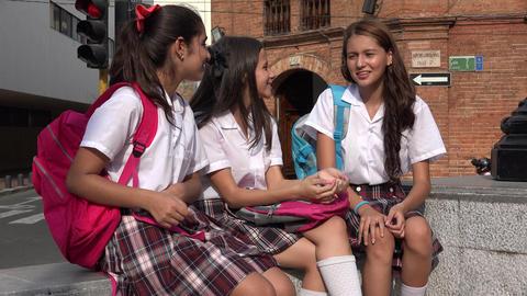 School Girls Teen Friends Live Action