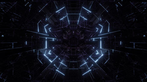 technical wireframe visual 3d rendering design, technical dream stock video Animation