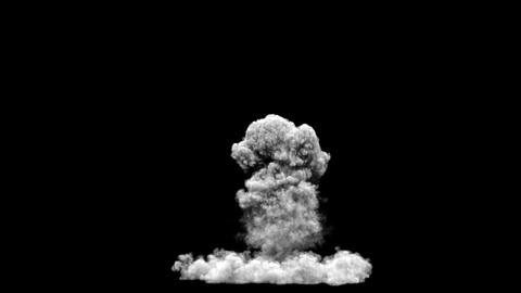 Smoke Explode Front Animation