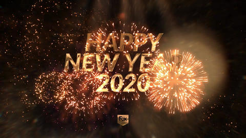 New Year's eve elegant countdown After Effects Template