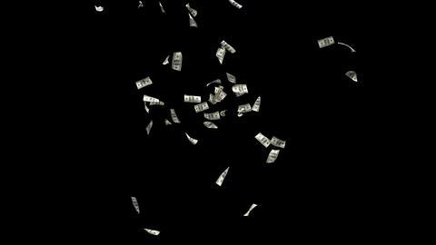 Dollars Money Falling 6 Animation