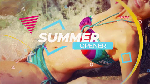Summer Vacation - Travel Opener After Effects Template