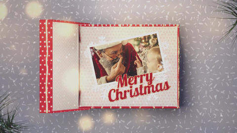 Christmas Gift Box After Effects Template