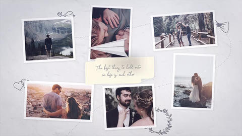 Brighter Moments After Effects Template