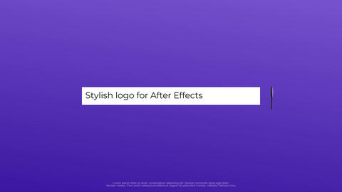 Search Logo After Effects Template
