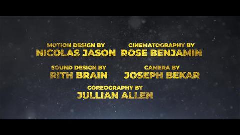 Cine Credit V 8 Motion Graphics Template