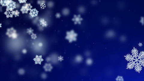Winter Backgrounds Loop Animation