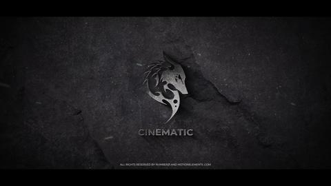 Cinematic Metal Logo Plantilla de After Effects