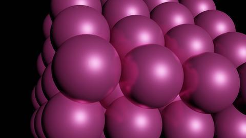 Spheres in a cube - 3D print model 3D Model