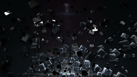 Abstract BG dwon Animation
